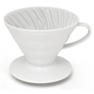 Hario Cono de goteo V60 02 cerámica 1-4 tazas