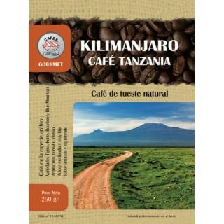 Café de Tanzania Kilimanjaro en Grano ( Cafés AyS Tostadero Barista)
