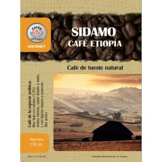 Café Etiopía Sídamo en Grano ( Cafés AyS Tostadero Barista)