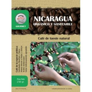 Café Orgánico y Sostenible Nicaragua (MOLIDO) ( Cafés AyS Tostadero Barista)