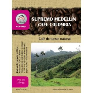 Café Supremo Medellín Colombia en Grano ( Cafés AyS Tostadero Barista)