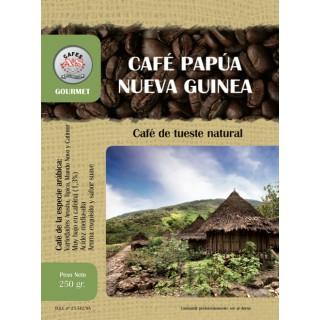 Café Papúa Nueva Guinea en Grano ( Cafés AyS Tostadero Barista)