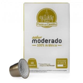 Café en cápsulas para máquina Nespresso Moderado